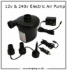 240v & 12v Electric Air Pump