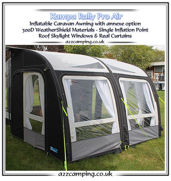 Offering The Same Features As Standard Kampa Rally Air With A Few Extras To Boot