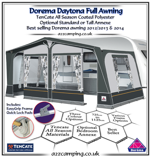 New Dorema 2018 Awning Range Review