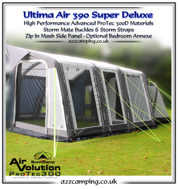 2016 Sunncamp Inflatable Awning Preview