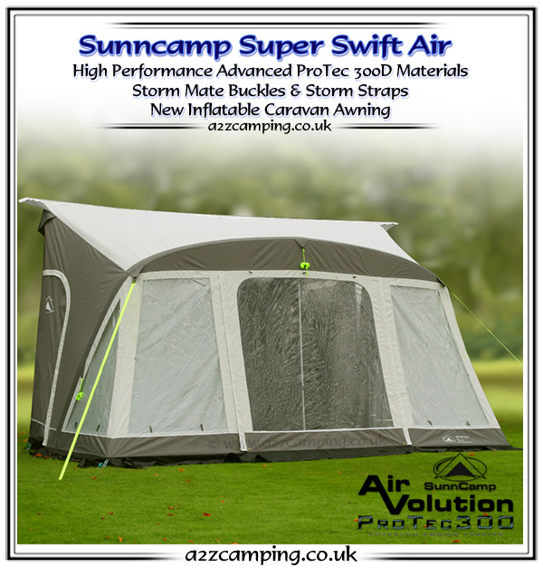 Sunncamp Aspect Awning | asbackgammonsupplythe