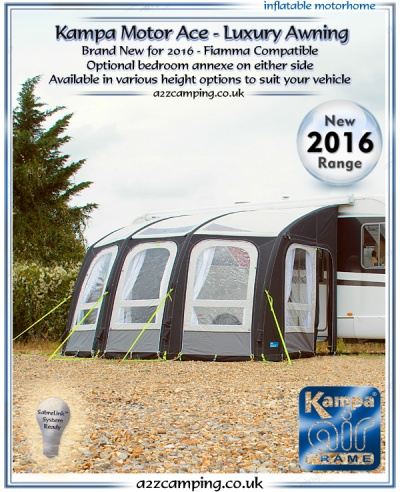 2016 Kampa Motor Ace Air 400 XXL (Factory Second)