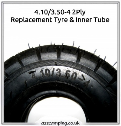 4.10/3.50-4 2Ply Replacement pneumatic tire