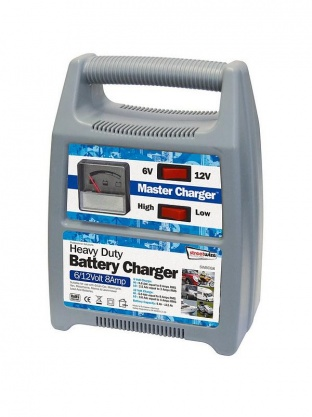 Heavy Duty Battery Charger 6/12 Volt 12 Amp