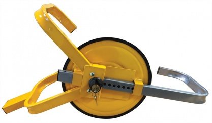Trailer Full Face Wheel Clamp 8'' to 10''