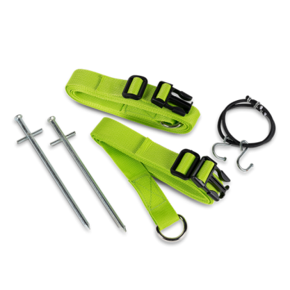 Kampa Dometic Rally Storm Tie Down Kit - Green