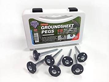 Blue Diamond Groundsheet Pegs - Box of 15
