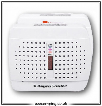 Caravan, Car or Cupboard Re-Chargeable Dehumidifier Moisture Trap