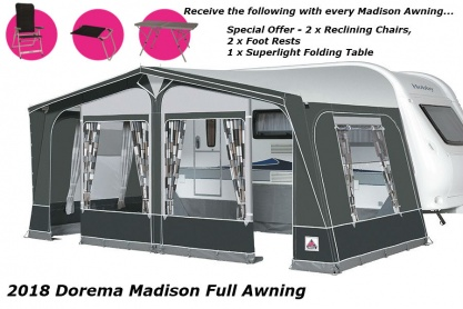 Dorema Madison Acrylic Full Awning 2019