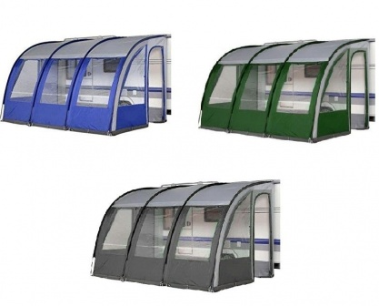 Ontario 390 Easy Pitch Caravan Porch Awning