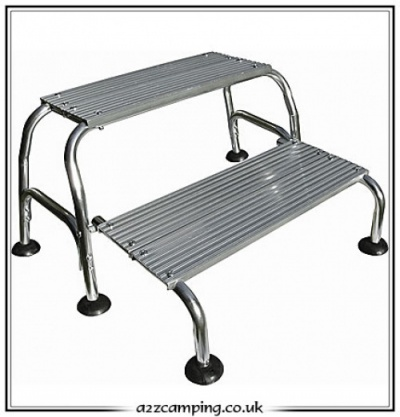 Streetwize Caravan Double Alloy Folding Step