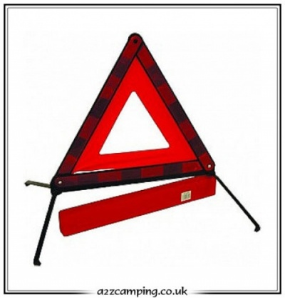 Road Side Warning Triangle