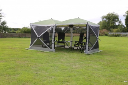 Quest Screenhouse 4+4 Double Shelter Gazebo