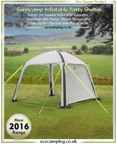 Sunncamp Ultimate Party Shade Air Inflatable Gazebo