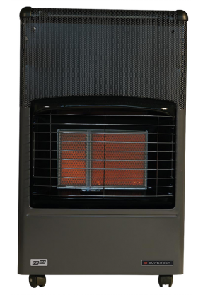 Superser F150 LPG Portable Cabinet Gas Heater