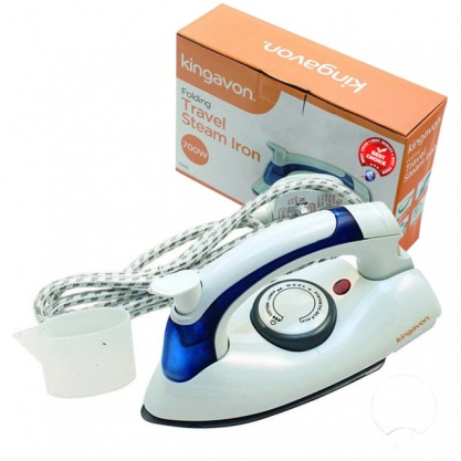 Kingavon Folding 700W Travel Iron