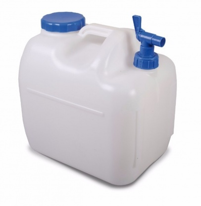 23 Litre Water Carrier with Easy Fill Cap and Moulded Tap