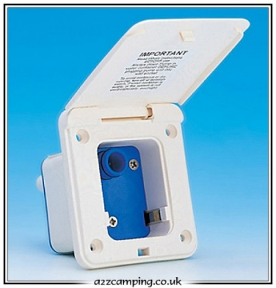 Watermaster Inlet Socket with Integrated Pressure Switch (Ivory)
