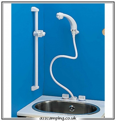 Whale Elegance Mixer Combination Tap/Shower with Bracket