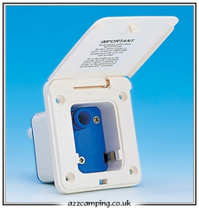 Whale Watermaster Inlet Socket with Microswitch