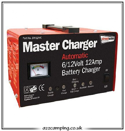 12 Amp 6 Or 12 Volt Leisure Battery Charger
