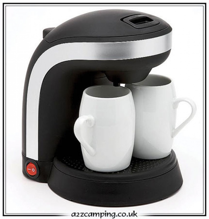 New 2012 Design 12 Volt Cafetiere 2 Cup Coffee Maker