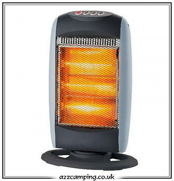 1200 Watt Caravan And Camping Halogen Heater