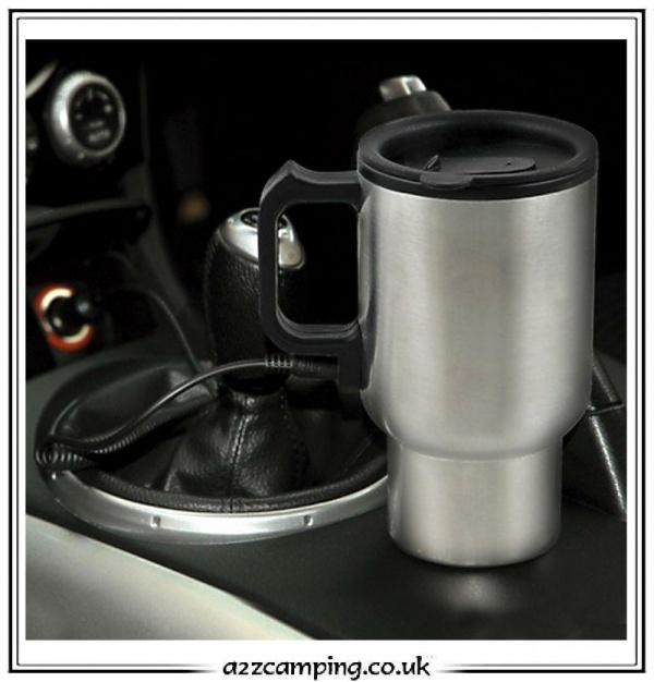 12v Electric Stainless Steel Travel Mug