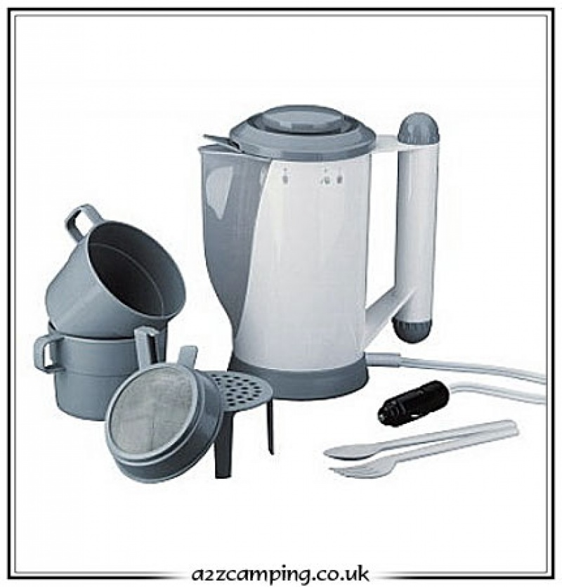 12 Volt Kettle With Baby Food Warmer, Kettle For Car