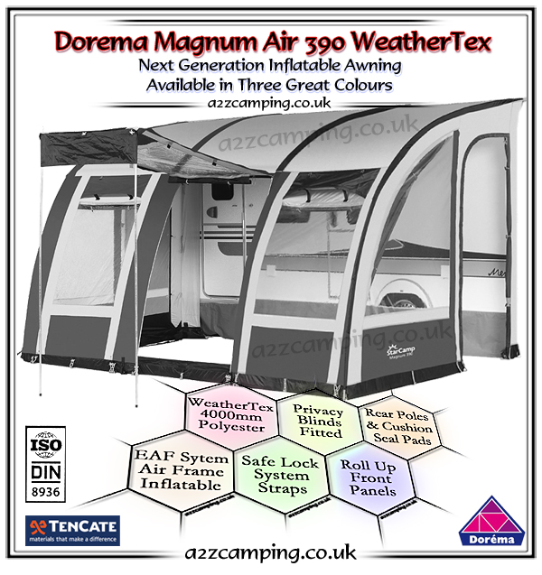 2018 Dorema Magnum Air 390 Inflatable Awning