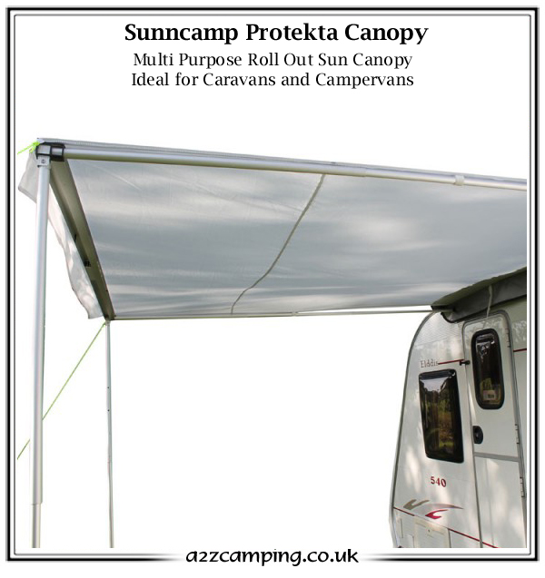 New Sunncamp Protekta Roll Out Sun Canopy
