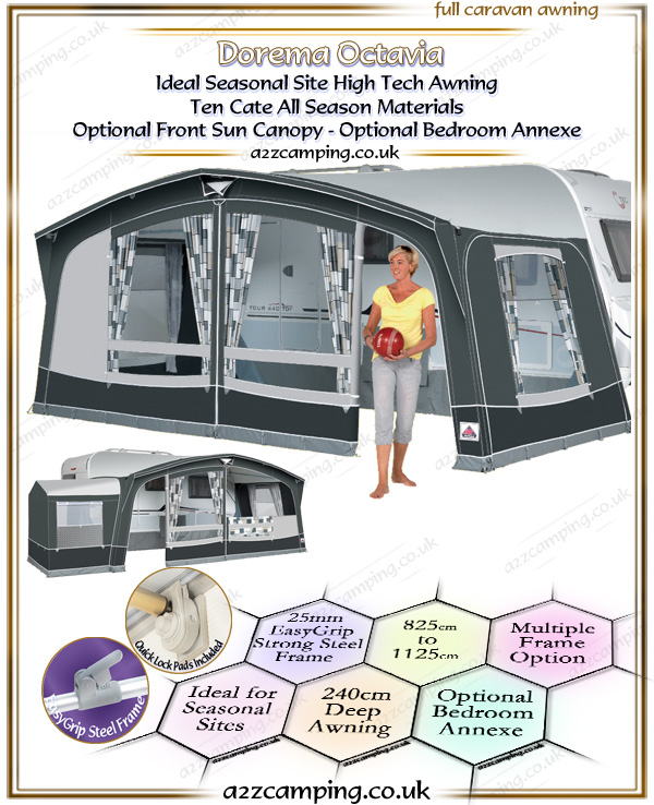 2018 Dorema Octavia Full Caravan All Season Awning