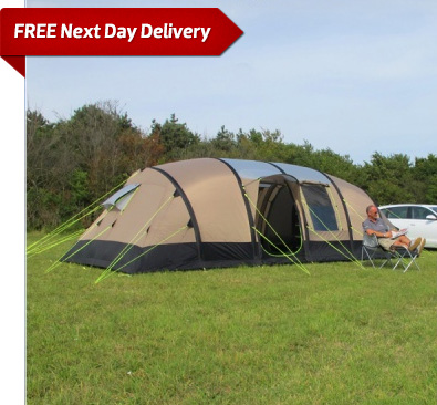 & Kampa Southwold 8 Air Large Inflatable Tent