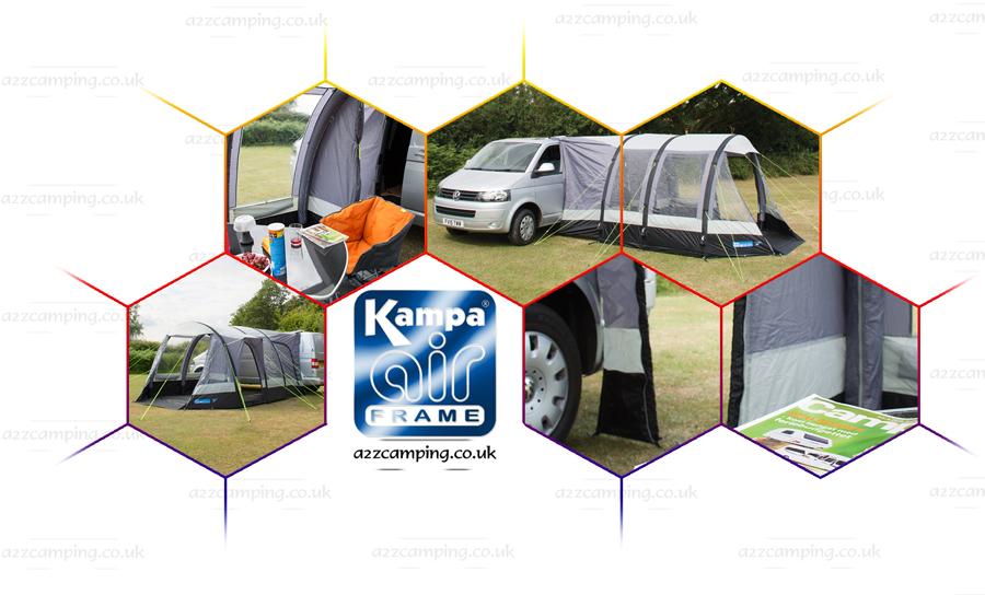 2016 Kamap Travel Pod Midi Air Inflatable Campervan Awning