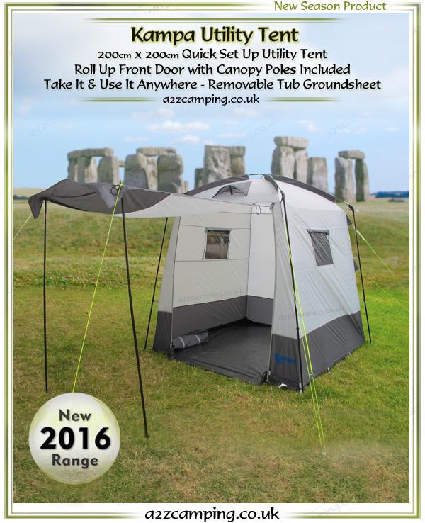 sc 1 st  a2zc&ing & Kampa Utility Tent