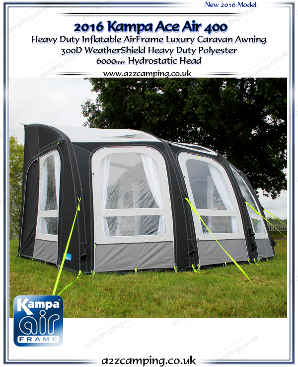 2016 Kampa ACE Air 400 Factory Second