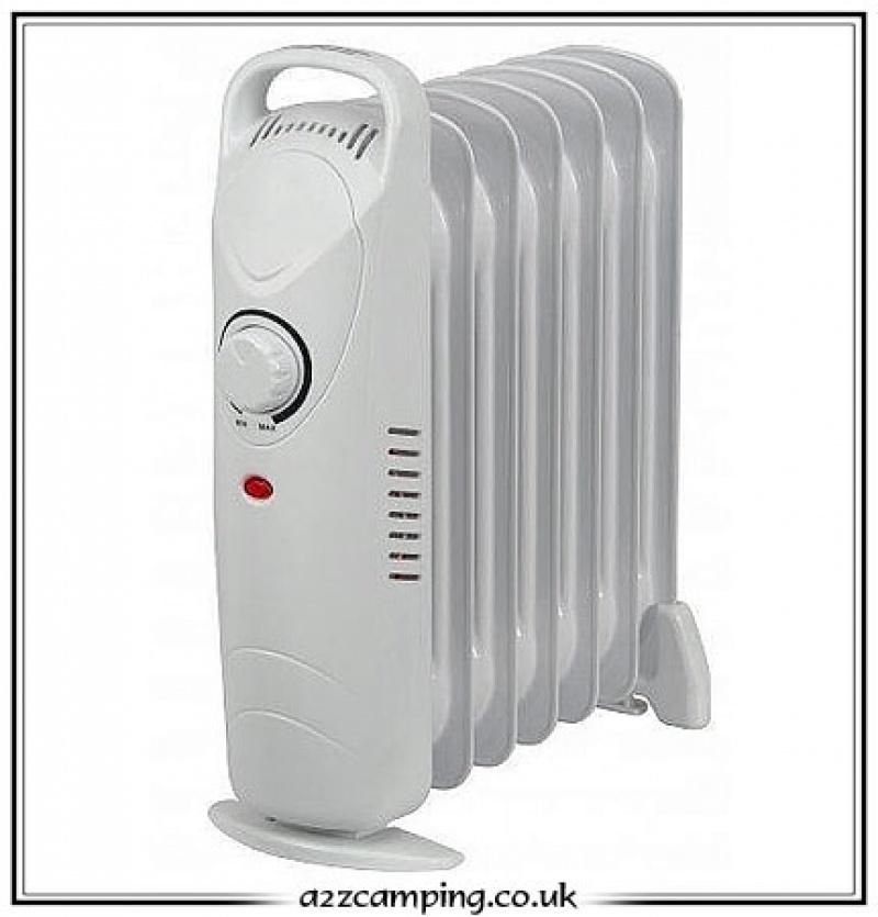 Quest 700 Watt Mini Oil Filled Radiator Heater