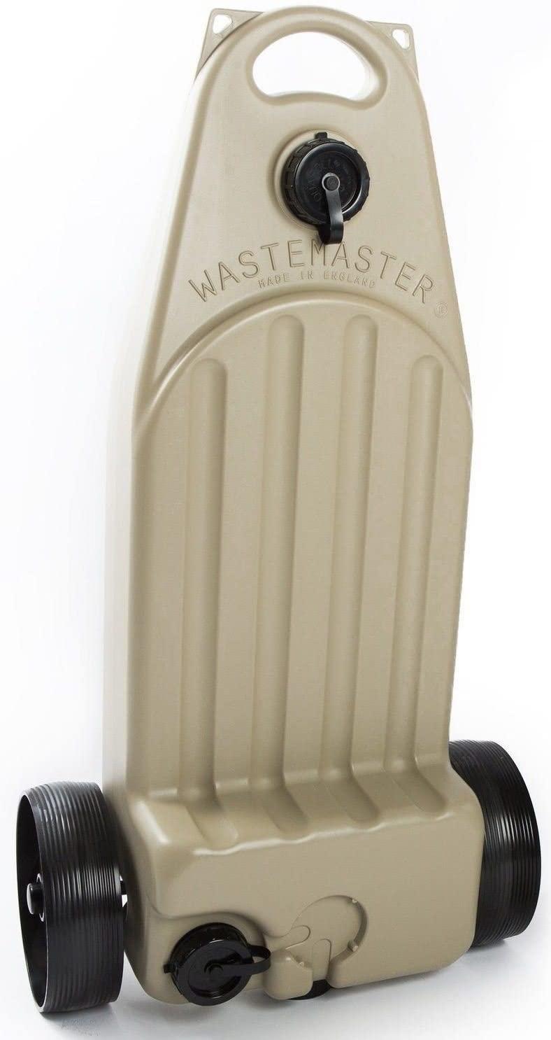 38 Litre Wastemaster Silver