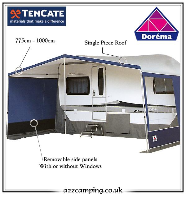 2017 Dorema Vario Caravan Sun Canopy  sc 1 st  a2zc&ing & 2017 Dorema Vario Luxury Caravan Sun Canopy