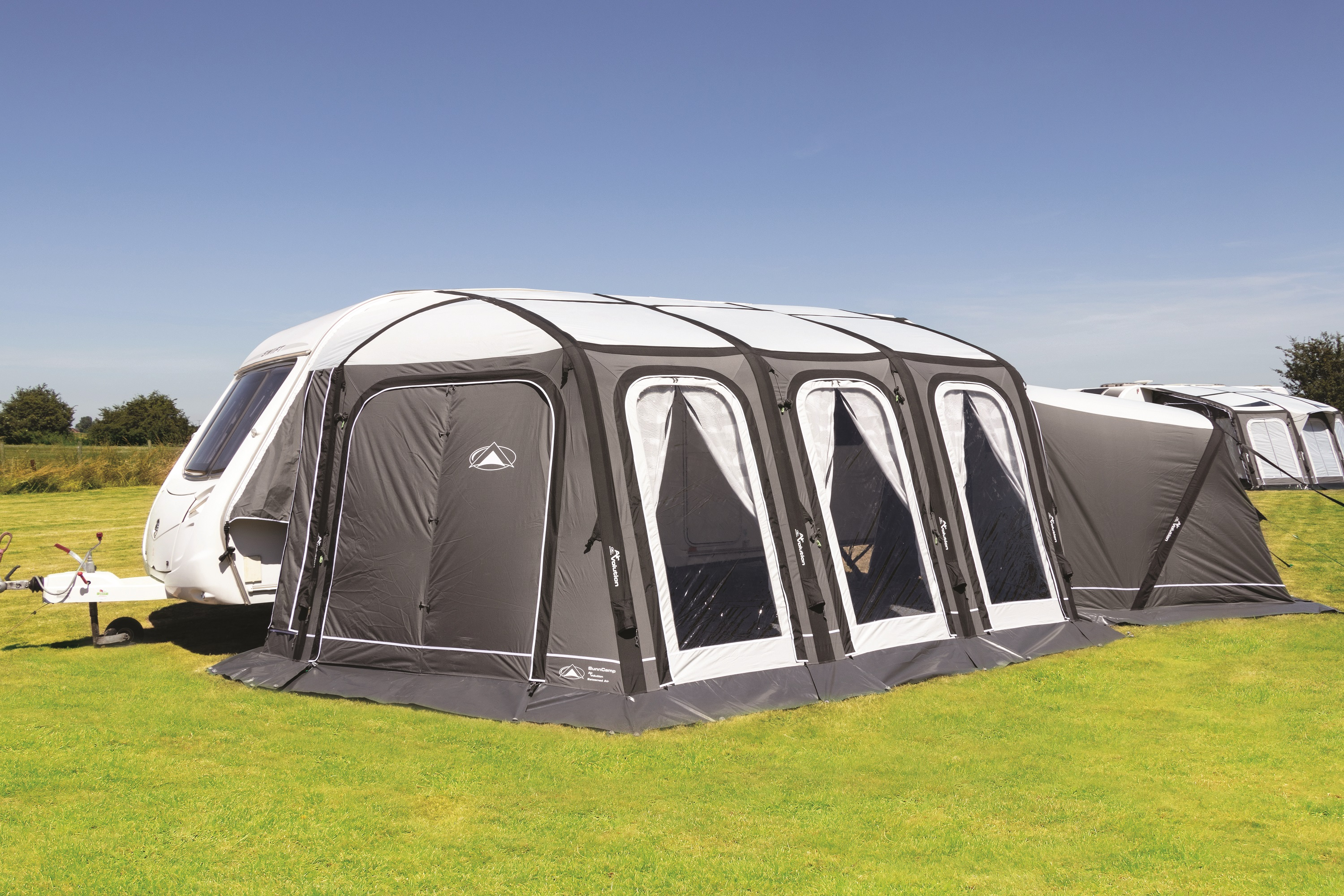 Sunncamp Esteemed AIR Full Touring Awning   2019 - Tent ...
