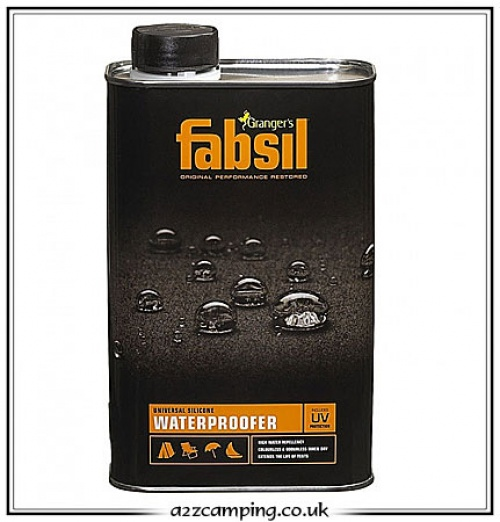 Grangers Fabsil Universal Silicone Waterproofer 1 litre  sc 1 st  a2zc&ing & Fabsil Silicone waterproof awinng and tent proofer in a can