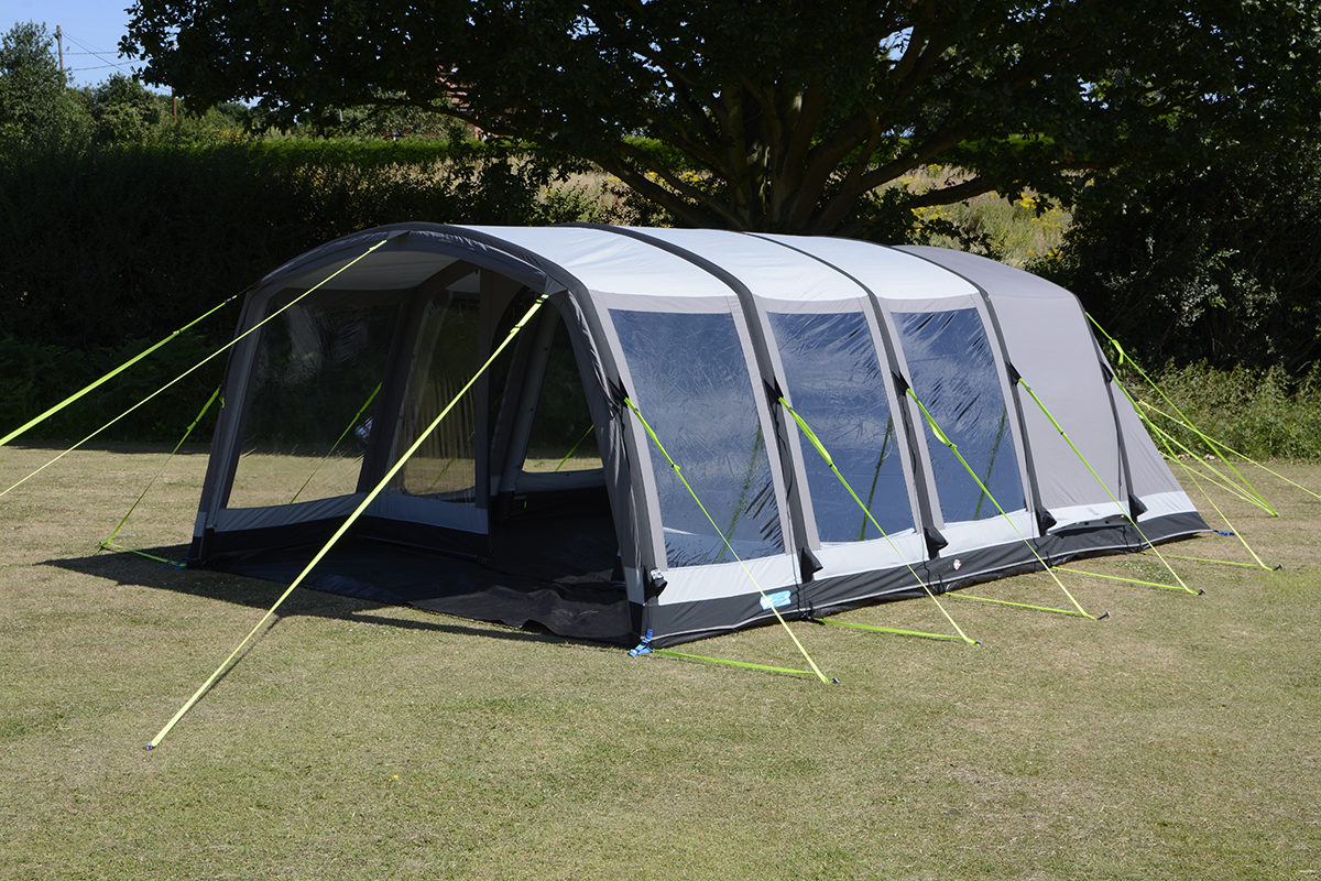 Kampa Hayling 6 Classic AIR Pro Polycotton Inflatable Tent   2018