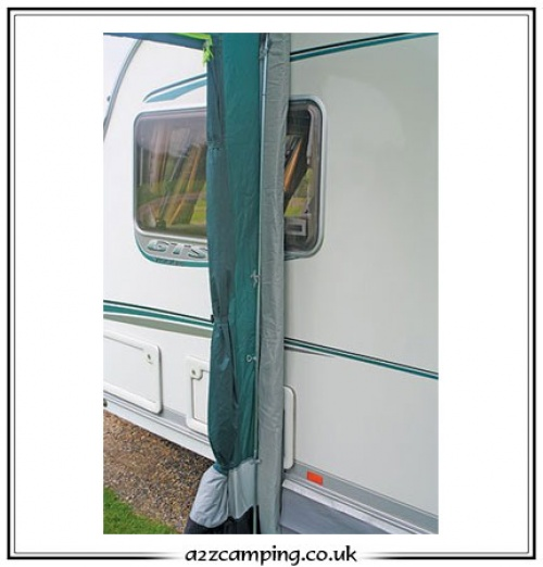 Rear Upright Pole Set For Caravan Awning