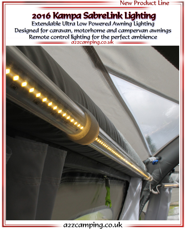 Kampa Sabre Link Awning Tent Lighting Kit