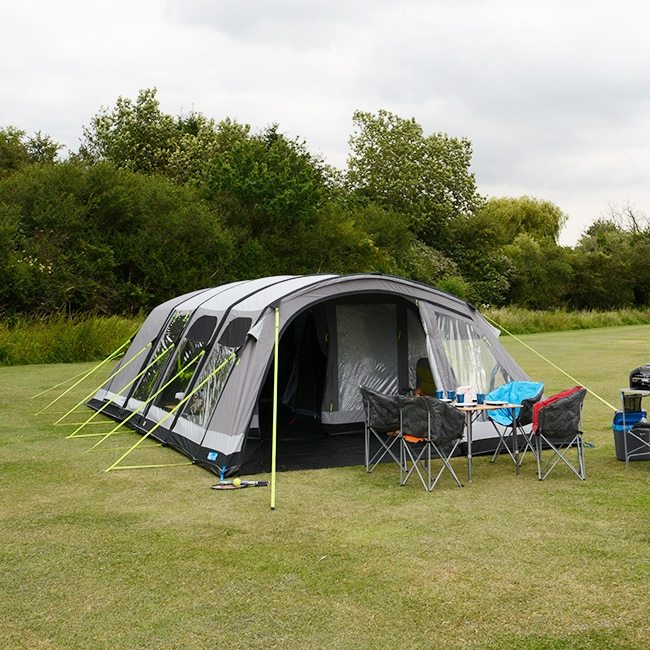 Kampa Studland 8 AIR Pro Airflow Inflatable Tent   2018