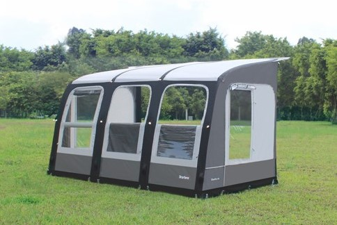 camptech starline air 390 inflatable awning 2018. Black Bedroom Furniture Sets. Home Design Ideas