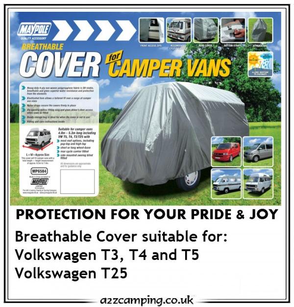 Camper Van Cover Grey Maypole T4 T5 Mp6584 T3 Complete Car Vw T25//t3//t4//t5