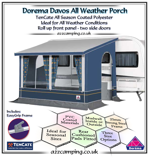 2018 Dorema Davos Winter Porch Awning