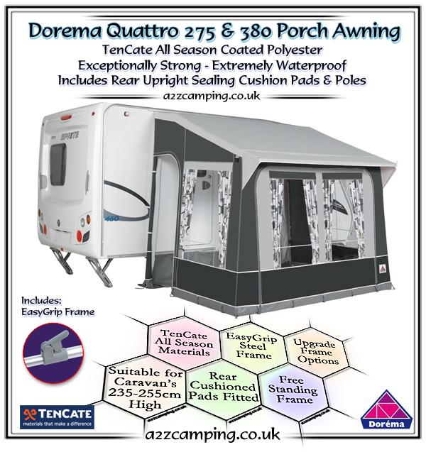 2018 Dorema Quattro Porch Awning