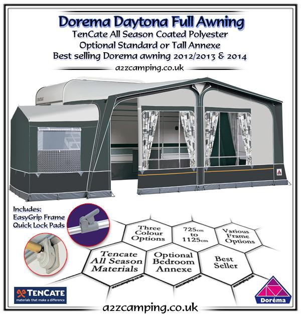Dorema Daytona XL270 Caravan Full Awning | 2020